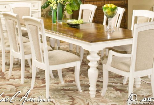 Buy Low Price Aico Furniture Tides Island White Rect Dining Room Set W Chin