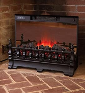Portable Electric Log Set Heater