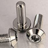 Stainless Steel Disc Bolt Yamaha/Other M8x25mm