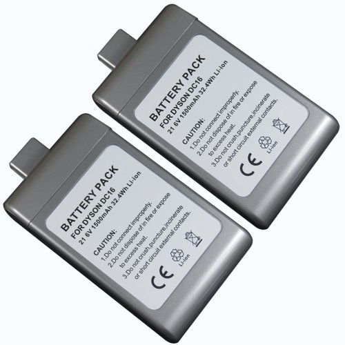 2 Pack Replacement Battery For Dyson Dc16 front-577800
