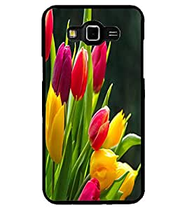 ColourCraft Beautiful Flowers Design Back Case Cover for SAMSUNG GALAXY GRAND MAX G720