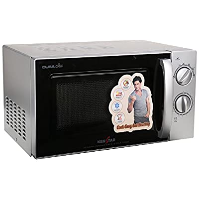 Kenstar KM20SSLN 17-Litre Solo Microwave Oven (Silver/Black)