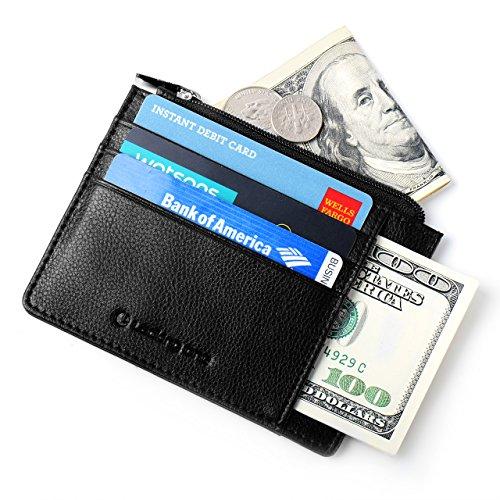 Lackingone RFID/NFC/Apple Pay Blocking Geldbörse Geldbeutel Geldaufbewahrung Kreditkartenhülle RFID-Blocker Schutzbrieftasche mit Kartenhaltern