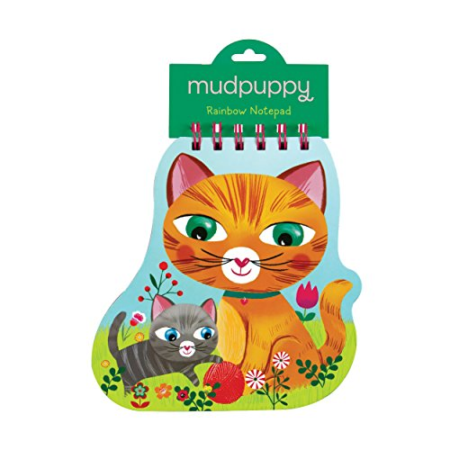 Mudpuppy Cat Rainbow Notepad - 1