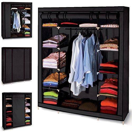 probache-armoire-de-rangement-noire-dressing-penderie-xxl-tissu