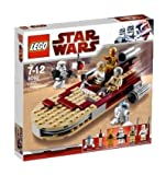 LEGO STAR WARS 8092 LUKES LANDSPEEDER (Vehicle Only - No Minifigures)