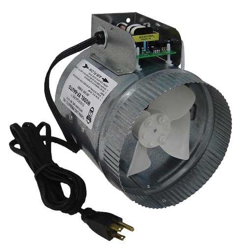 Tjernlund EF-6 AUTO Automatic Duct Booster Fan - 6 Inches