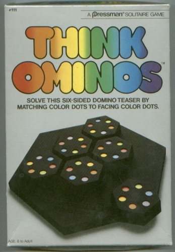 Think Ominos - Buy Think Ominos - Purchase Think Ominos (Pressman, Toys & Games,Categories,Games,Board Games)