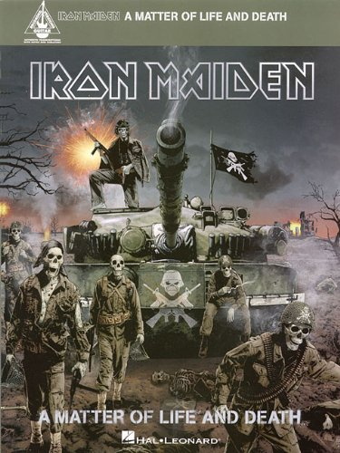 IRON MAIDEN -A MATTER OF LIFE AND DEATH (Guitar Recorded Versions)