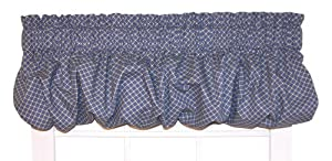 Amazon Com Tyvek Diamond Print Balloon Valance Curtain 68