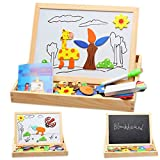 Baby Toys Wood Educational Drawing Board Puzzle Magnetic Jigsaw Board Games