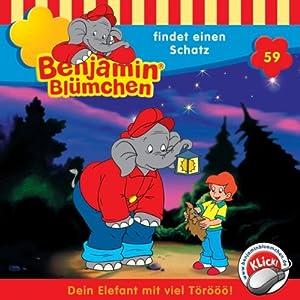 Benjamin findet einen Schatz (Benjamin Blümchen 59) Hörspiel