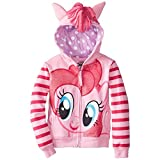 My Little Pony Little Girls MLP Pinky Pie Costume Hoodie, Pink Multi, 5/6