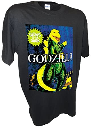 Men's Aurora Godzilla Monster Model Kit Horror Movie T Shirt By Achtung T Shirt LLC