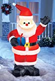 Lighted Inflatable Santa Claus Yard Decoration