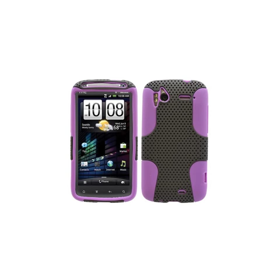 New OEM Body Glove Pink/Black Hard Shell Case Cover For HTC Sensation 4G