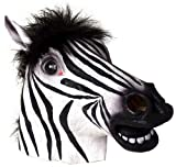 Halloween Zebra Head latex Mask