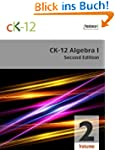 CK-12 Algebra I - Second Edition, Vol...