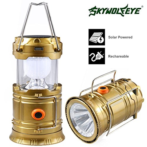 Swizze Rechargeable Solar Panel Camping Lantern LED Outdoor Tent Hanging Lights Lamp (Fuel X 30 Atomic compare prices)