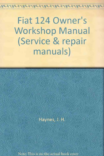 fiat 124 owner 39 s workshop manual service repair manuals. Black Bedroom Furniture Sets. Home Design Ideas