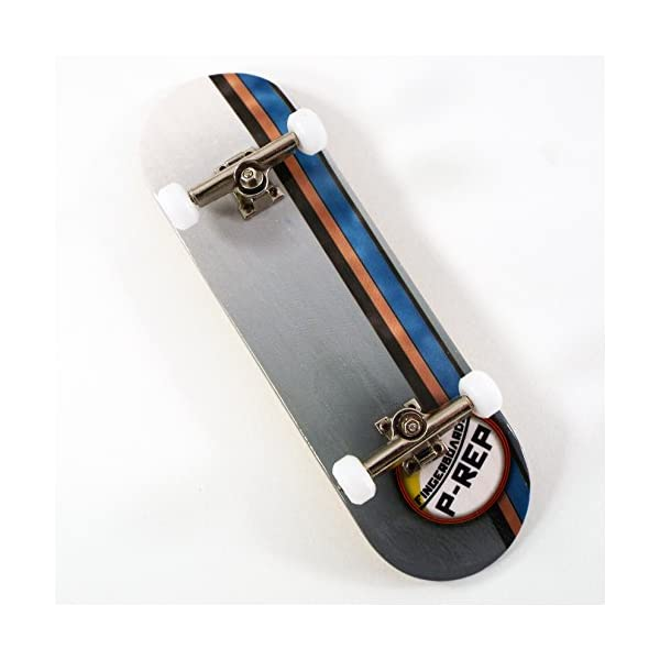 P-Rep GT 30mm Graphic Complete Wooden Fingerboard w CNC Lathed Bearing  Wheels