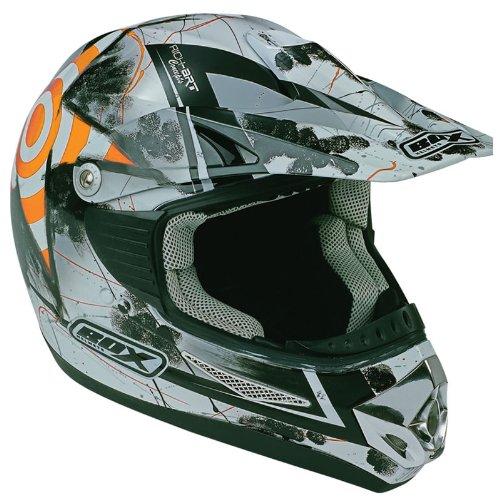 Box MX-5 Target Motocross Helmet L Orange