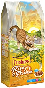 Friskies Dry Rise and Shine Pet Food, 6.3-Pound, 5-Pack
