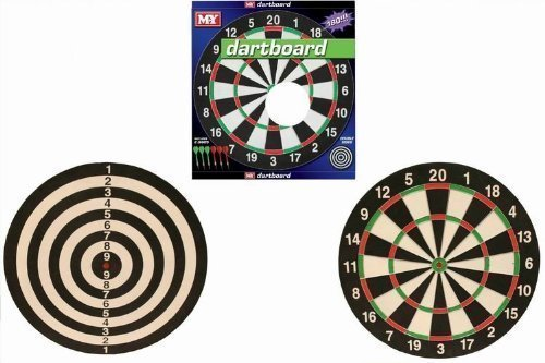 M.Y 17 DART BOARD WITH 6 DARTS by KandyToys günstig online kaufen
