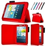 Connect Zone� Red PU Leather Case Cov...