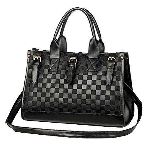 lmeno-womens-faux-leather-handbag-check-plaid-shoulder-bag-package-business-ol-tote-bag-satchel-comm