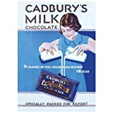 Cadbury's Dairy Milk Chocolate Postcard