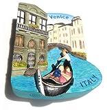 Venice Gondolas Italy Italian Canals Europe 3D Resin TOY Fridge Magnet Free Ship