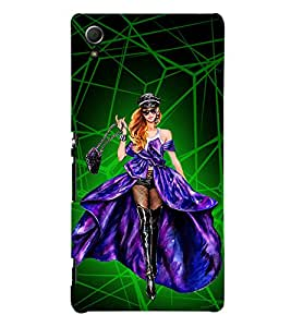 Heroine Cinima Movie 3D Hard Polycarbonate Designer Back Case Cover for Sony Xperia Z4 :: Sony Xperia Z4 E6553