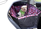 Pink Durable Waterproof Bench Seat Cover for Pets YC-D-DC6001LY-CC