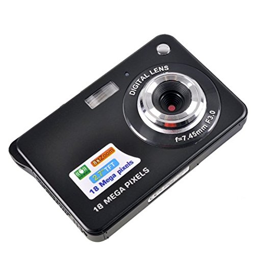 Mini Digital Camera,KINGEAR 2.7 inch TFT LCD HD Digital Camera(Black)