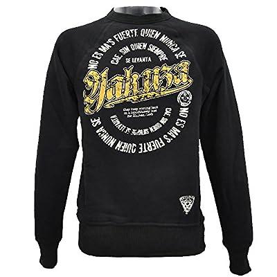 Yakuza Herren Pullover Sweatshirt PB 521 schwarz