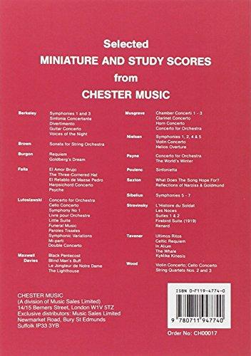 Igor Stravinsky: L'Oiseau De Feu (the Firebird) - Miniature Score
