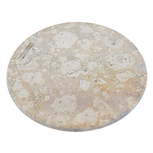 Evco International 74495 Fossil Marble 12 in. Lazy Susan