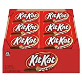 KIT KAT Chocolate Candy Bars, Halloween Candy (Pack of 36) (Tamaño: 36 Count)