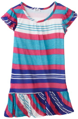 Splendid Littles Girls 2-6X Beach Towel Stripe Dress