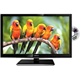 """VELTECH 22"""" LED TV BUILT IN DVD PLAYER WITH FREEVIEW & USB"""