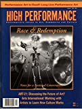 img - for High Performance # 66 - Contemporary Issues, in Art, Community and Culture: