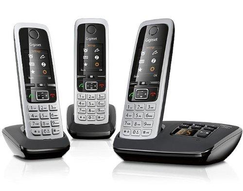 Shopping mit http://telefone.kalimno.de - Gigaset C430 A Trio Schnurlostelefon mit