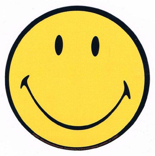 "STICKER ""SMILE MARK "" (ステッカー スマイル)"