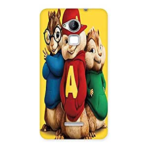 Ajay Enterprises Wo 3 Funny Friend Back Case Cover for Coolpad Note 3