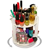 "NEW Mini...Makeup and Cosmetic Organizer Spinner That Doubles Your Storage in Only 8 3/4"" on Counter and 9"" High. Proudly Made In The USA!"