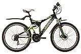 KS Cycling Fahrrad Mountainbike ATB Fully Zodiac RH 48 cm