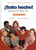 img - for Trato Hecho! Spanish for Real Life: Aie book / textbook / text book