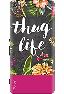 Noise Designer Printed Case / Cover for Sony Xperia XA Dual / Nature / Thug Life Design