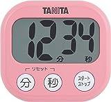 タニタ でか見えタイマー100分 フランボワーズピンク TD-384-PK
